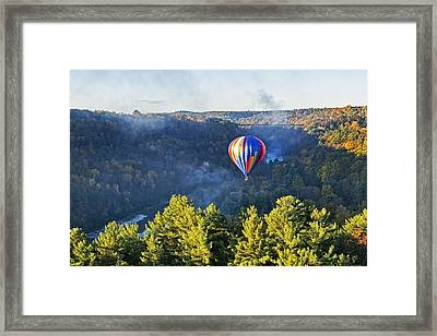Launching At Sunrise Framed Print
