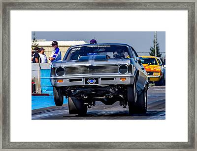 Launching Nova Framed Print by Bill Gallagher