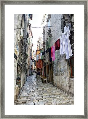 Laundry Day 1 Framed Print