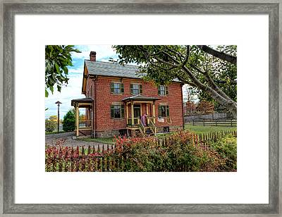 Laundry Day Framed Print by Susan Rissi Tregoning