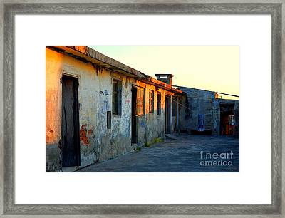 Framed Print featuring the photograph Laundry Room Hotel Bel Mar by Susan Parish