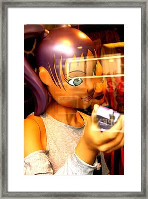 Laura 2 Framed Print by Jez C Self