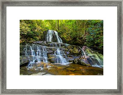 Laurel Falls Framed Print