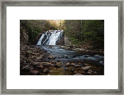 Laurel Falls In Autumn #1 Framed Print