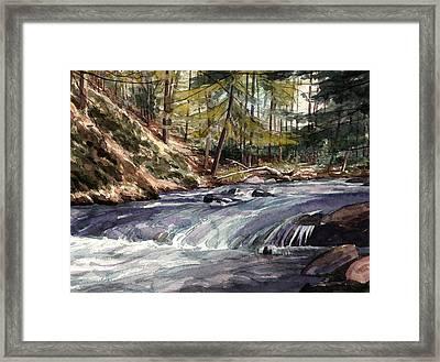 Laurel Run Framed Print by Jeff Mathison
