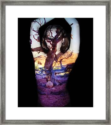 Lauren Framed Print by Arla Patch