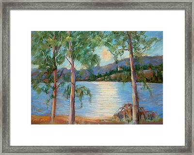 Lauvlia Framed Print by Joan  Jones