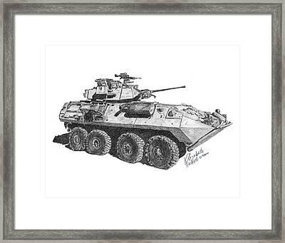 Lav-25 Framed Print