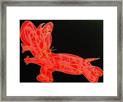 Lava Framed Print