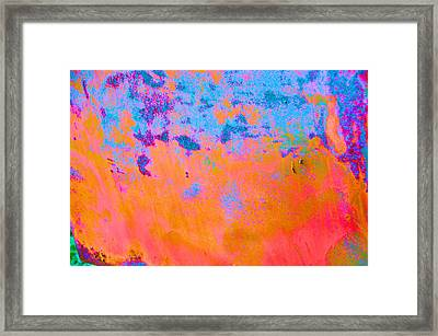 Lava Explosion Framed Print by Jan Amiss Photography