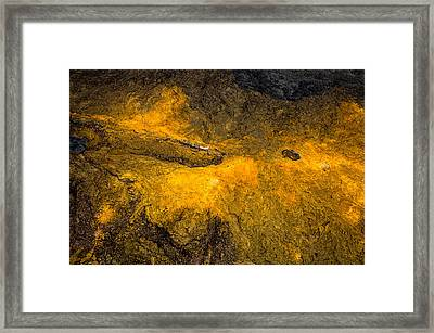 Framed Print featuring the photograph Lava by M G Whittingham