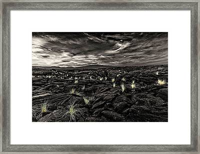 Lava Flow Framed Print by Thomas Ashcraft