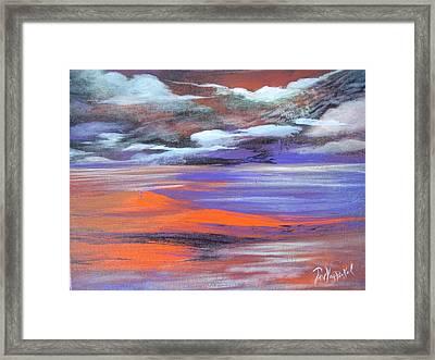 Lava Lagoon Framed Print