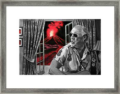 Lava Me Now Or Lava Me Not Framed Print
