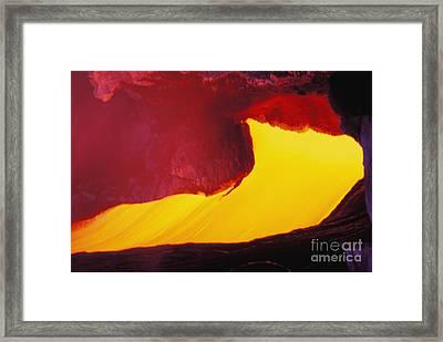 Lava Window Framed Print by Erik Aeder - Printscapes