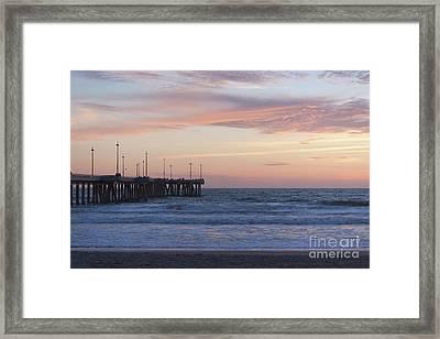 Lavander Waters Framed Print