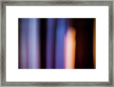Lavender And Rose Gold No. 2 Framed Print
