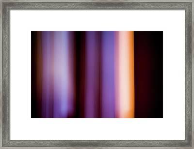 Lavender And Rose Gold Framed Print