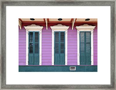 Framed Print featuring the photograph Lavender Blue by Nicholas Blackwell
