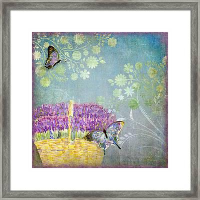 Lavender Dreams Framed Print by Audrey Jeanne Roberts