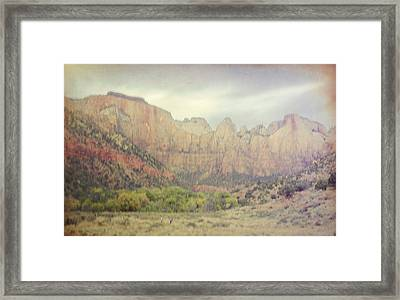 Lavender Dreamscape Framed Print by Jim Cook