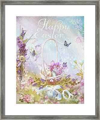 Lavender Easter Framed Print by Mo T