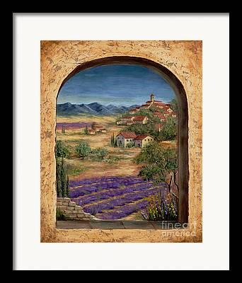 Medieval Village Framed Prints