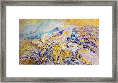 Lavender Fields Forever Framed Print