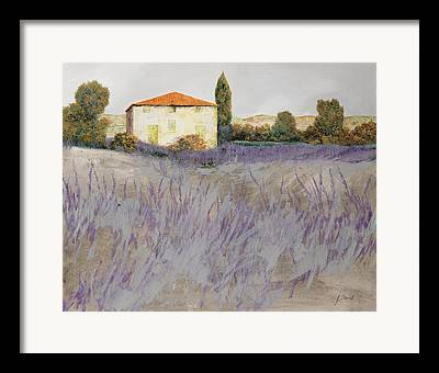 Country House Framed Prints