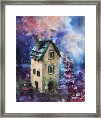 Lavender Hill Framed Print by Mo T