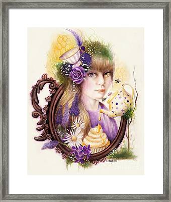 Lavender Honey Framed Print by Sheena Pike