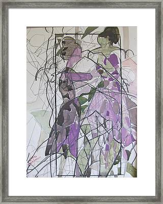 Lavender Ladies Framed Print by Carole Johnson