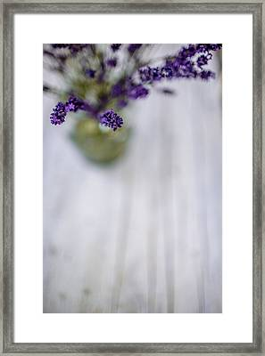 Lavender Still Life Framed Print by Nailia Schwarz
