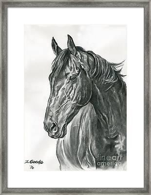 Lavinia Framed Print by Jana Goode