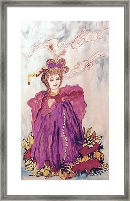 Lavish Lady Framed Print by Kenlynn Schroeder