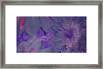 Lavish Lavender Framed Print by Anne-Elizabeth Whiteway