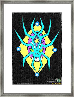 Law Of Life And Death Framed Print by Alexander Ladd