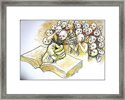 Law Framed Print