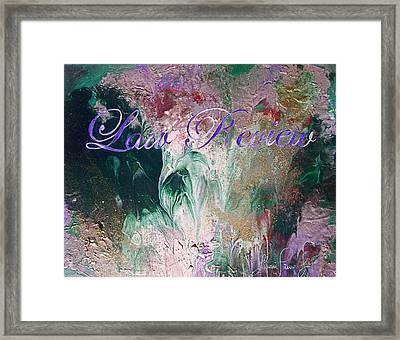 Law Review Framed Print by Laura Pierre-Louis