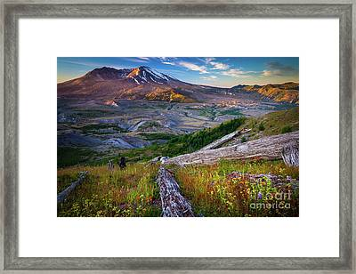 Lawetlat La Framed Print by Inge Johnsson