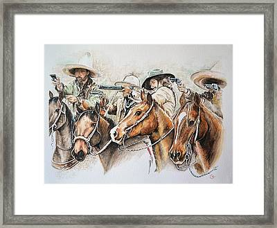 Lawless Framed Print by Traci Goebel