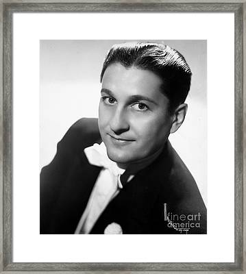 Lawrence Welk (1903-1992) Framed Print by Granger