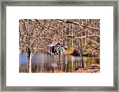 Lawrenceville Mill Framed Print by James Potts