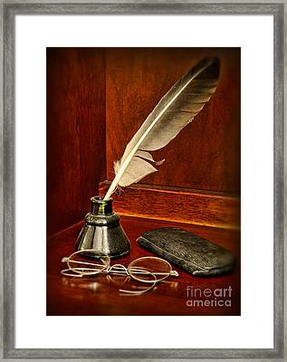 Lawyer - The Brief Starts Here. Framed Print