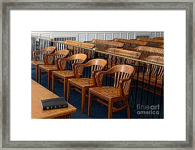 Lawyer - The Courtroom Framed Print