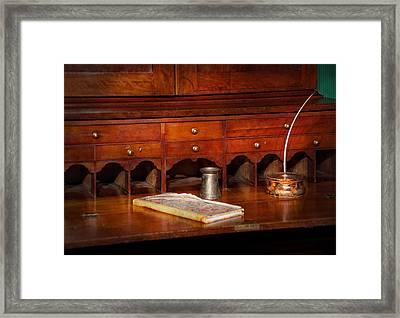 Lawyer  - The Written Law  Framed Print