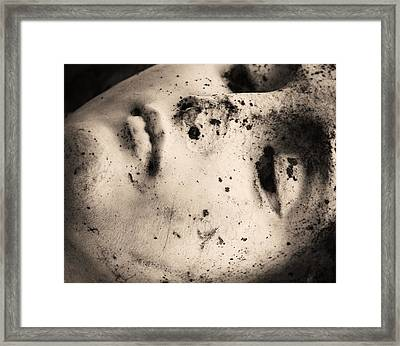 Lay Down With Sins  Framed Print by Empty Wall