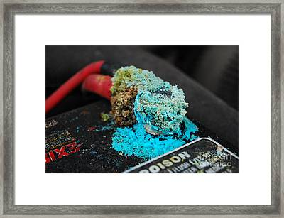 Lay Of The Living Lead Framed Print by The Stone Age