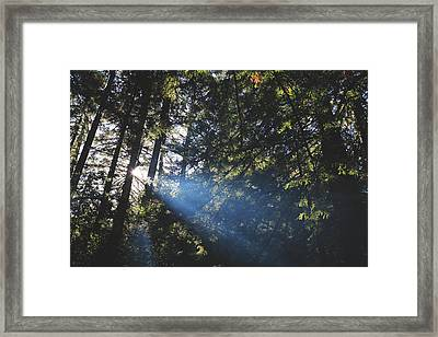Lay Your Soul Bare Framed Print
