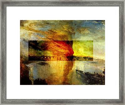 Layered 12 Turner Framed Print